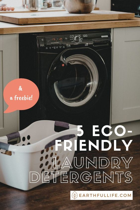 eco friendly laundry detergent pin